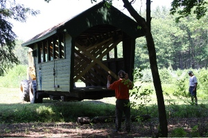 The Covered Bridge, Built in 1945