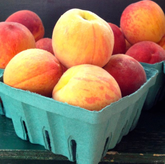 A grade peaches