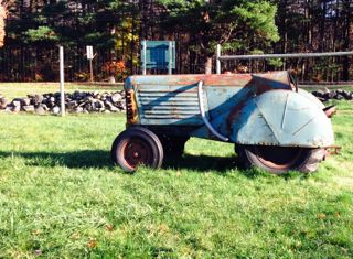 "Oliver ""88""  Orchard Tractor, 1954, diesel"